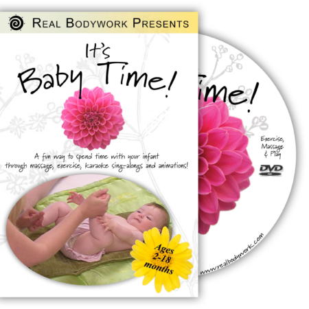 Baby Time Infant Massage dvd cover