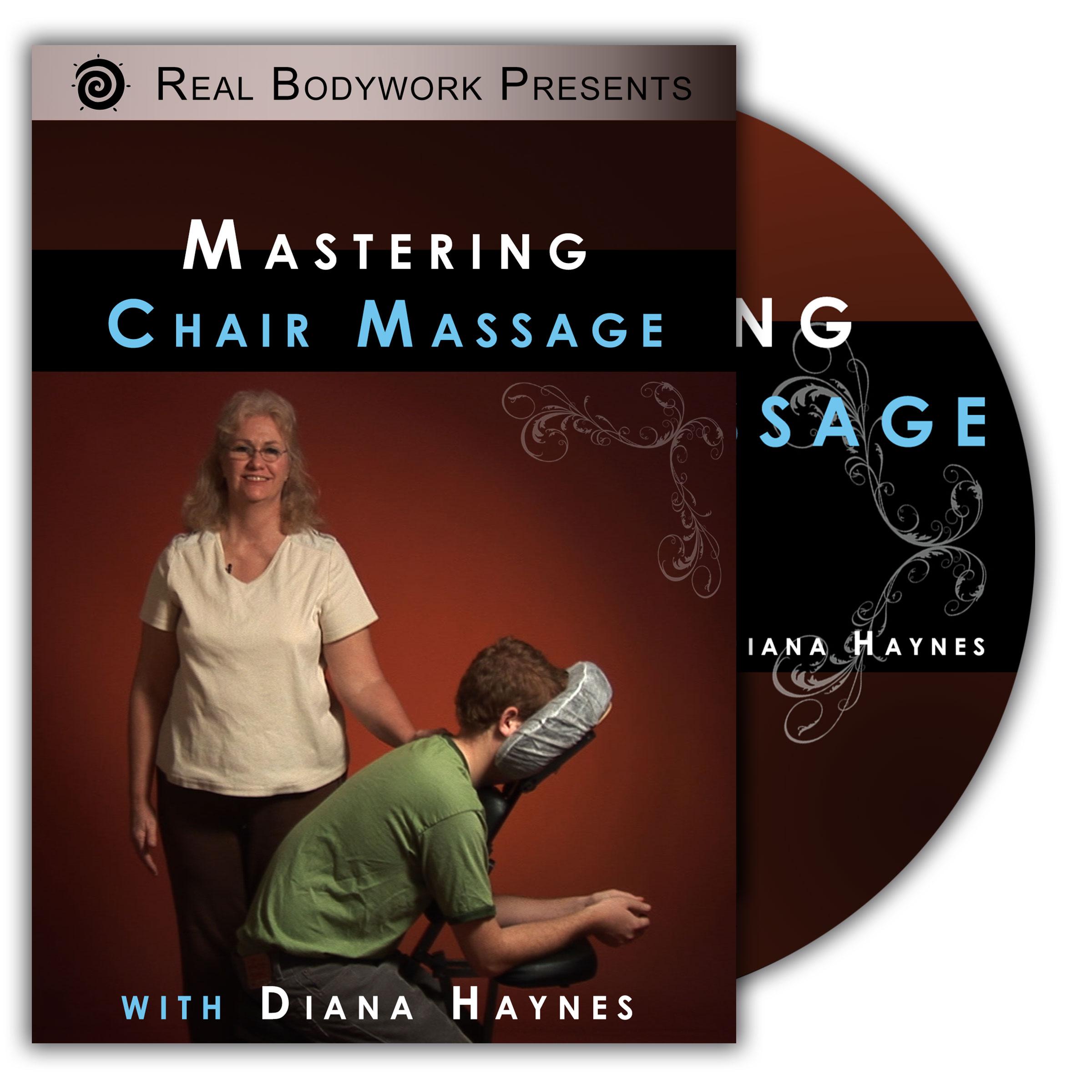 Chair Massage DVD video Real Bodywork