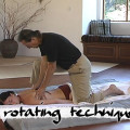 Clinical Shiatsu rotating technique