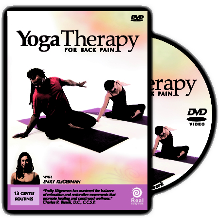 Yoga Therapy for Back Pain DVD
