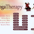Yoga Therapy for Back Pain DVD menu