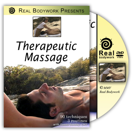 Cover of Therapeutic Massage DVD