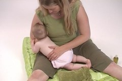 Newborn massage, infant massage, massage therapy, baby massage, real bodywork