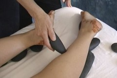 hot stone massage for meridians