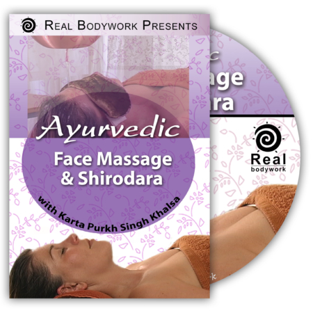 Ayurvedic Face Massage shirodhara DVD video cover
