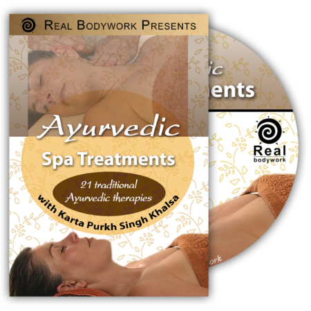 Ayurvedic spa treatments dvd video