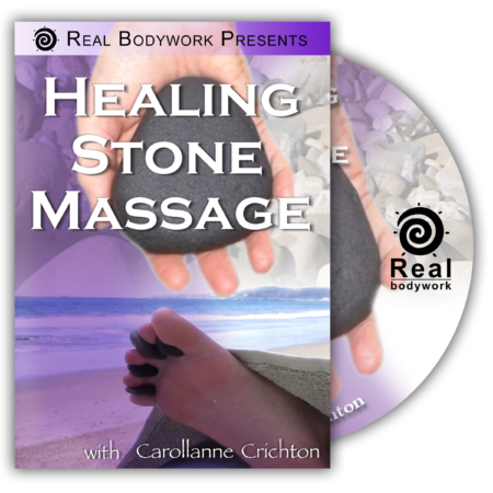 Hot Stone Massage DVD-video