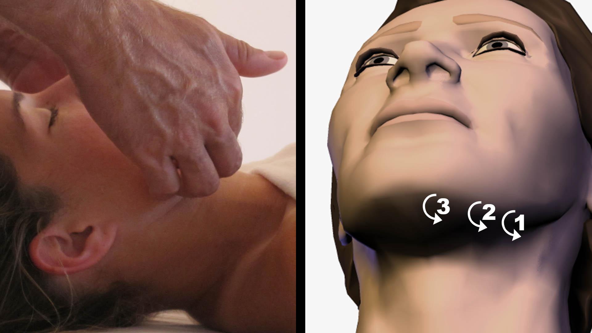 Lymphatic drainage massage techniques
