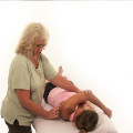 Positional release for the shoulder.