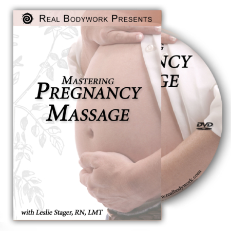 Pregnancy Massage DVD video cover