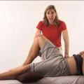 Sports massage video screenshot