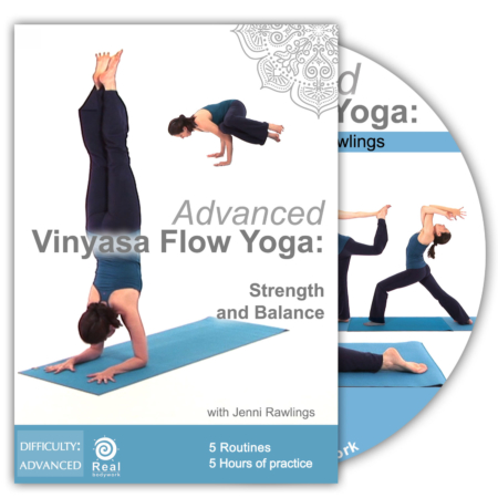 Advanced vinyasa Flow yoga dvd