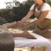 massage the foot