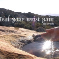 Heal your wrist pain naturally title image