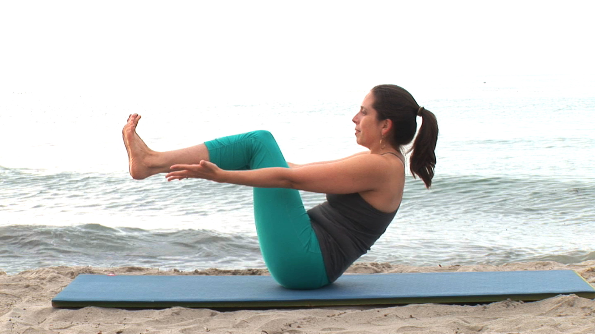 Strong Vinyasa Flow Yoga DVD video - Real Bodywork