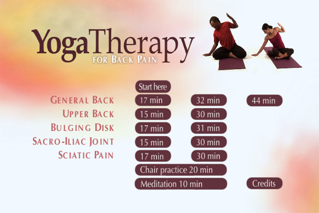 Viniyoga Therapy for the Low Back, Sacrum & Hips Gary ...