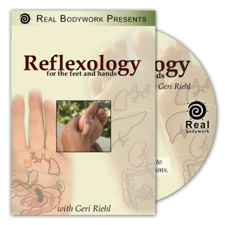 Reflexology for the feet and hands dvd cover
