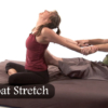 Thai massager rowboat stretch