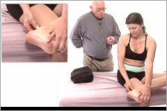 Achilles tendonitis massage