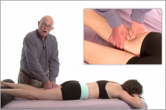 hamstring massage
