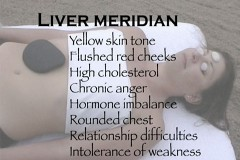 meridian massage with hot stones